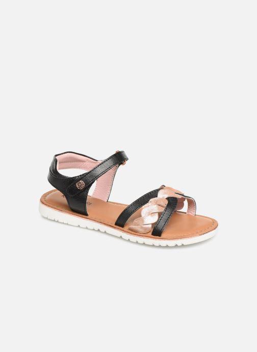 Sandales et nu-pieds Kickers Betty E Noir vue détail/paire