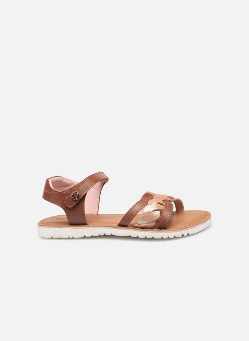 Sandales et nu-pieds Kickers Betty E Marron vue derrière