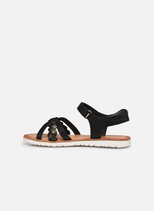 Sandalen Kickers Betty E schwarz ansicht von vorne