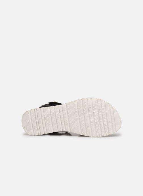 Sandalen Kickers Betty E schwarz ansicht von oben