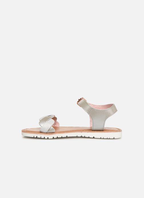 Sandales et nu-pieds Kickers Beth Argent vue face