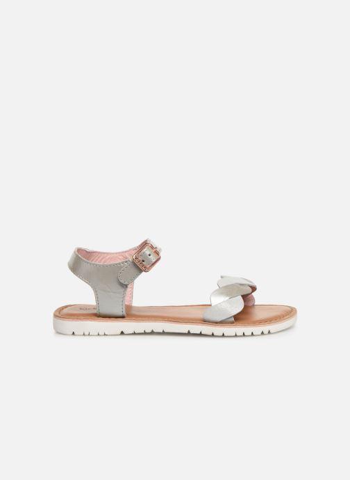 Sandales et nu-pieds Kickers Beth Argent vue derrière