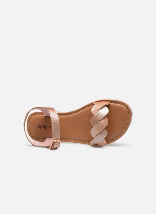 Sandali e scarpe aperte Kickers Beth Rosa immagine sinistra