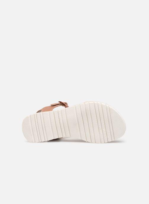 Sandales et nu-pieds Kickers Beth Rose vue haut