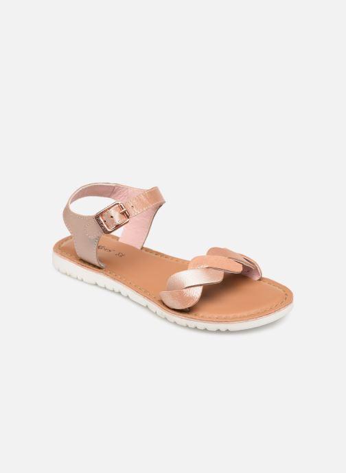 Sandales et nu-pieds Kickers Beth Rose vue détail/paire