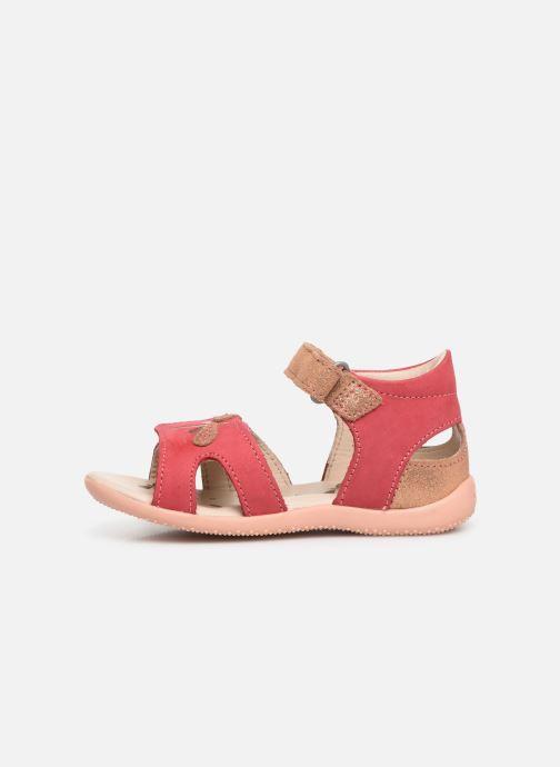 Sandales et nu-pieds Kickers Beshine Rose vue face