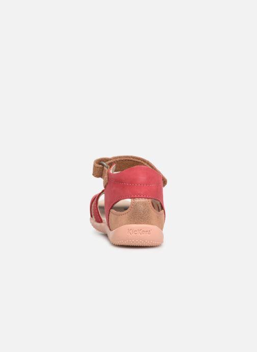 Sandales et nu-pieds Kickers Beshine Rose vue droite