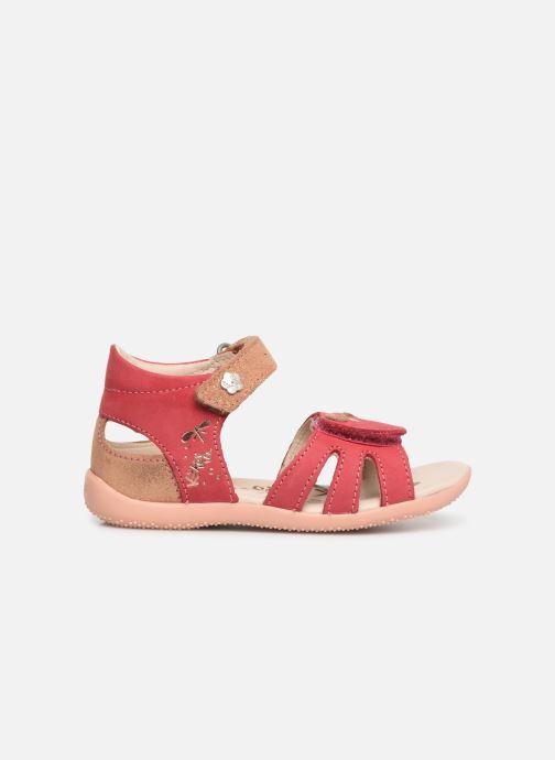 Sandales et nu-pieds Kickers Beshine Rose vue derrière