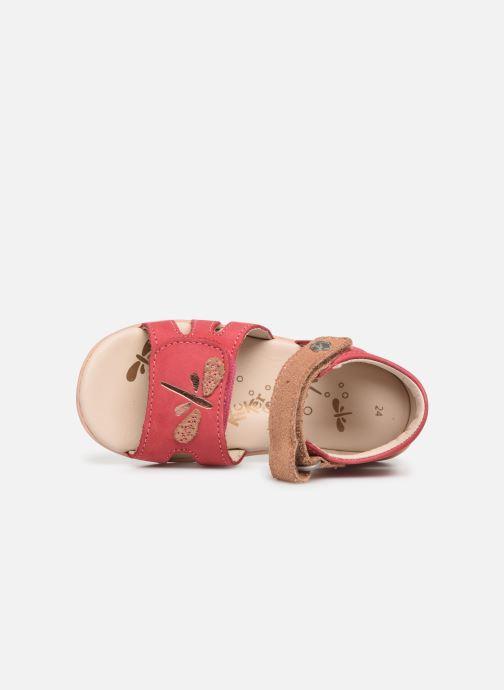 Sandales et nu-pieds Kickers Beshine Rose vue gauche