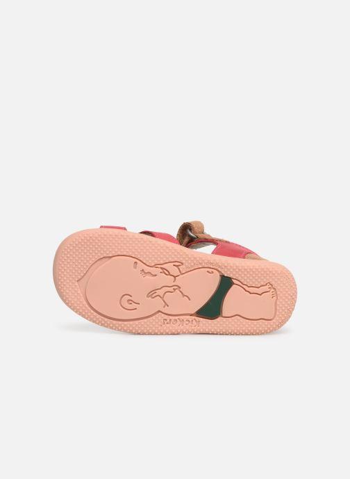 Sandales et nu-pieds Kickers Beshine Rose vue haut