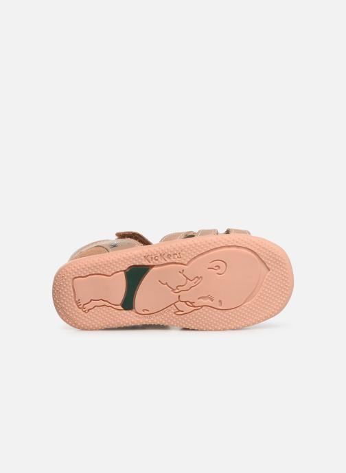 Sandali e scarpe aperte Kickers Beshine Argento immagine dall'alto