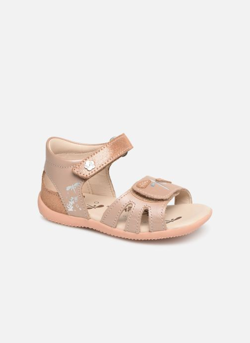 Sandales et nu-pieds Kickers Beshine Argent vue détail/paire