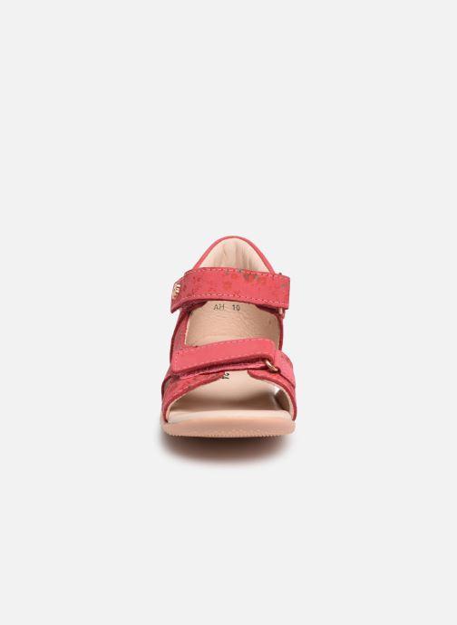 Sandales et nu-pieds Kickers Binsia Rose vue portées chaussures