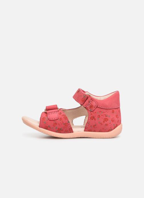 Sandales et nu-pieds Kickers Binsia Rose vue face