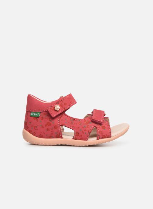 Sandales et nu-pieds Kickers Binsia Rose vue derrière