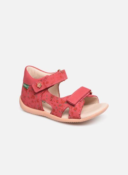 Sandales et nu-pieds Kickers Binsia Rose vue détail/paire