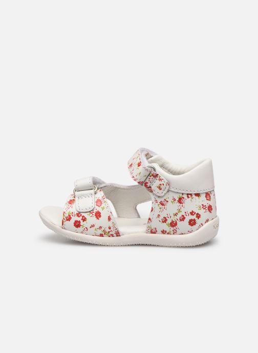 Sandales et nu-pieds Kickers Binsia Blanc vue face