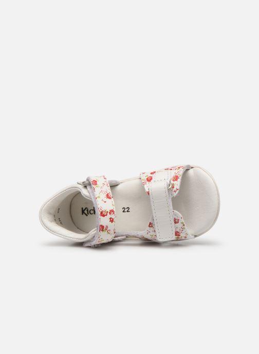 Sandali e scarpe aperte Kickers Binsia Bianco immagine sinistra