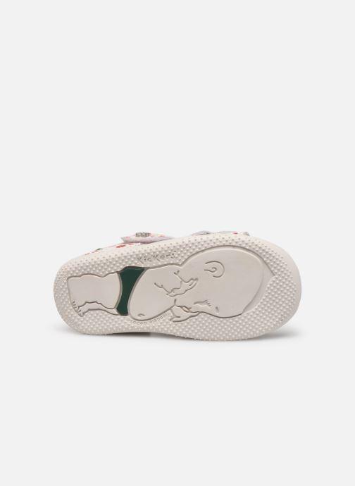 Sandali e scarpe aperte Kickers Binsia Bianco immagine dall'alto