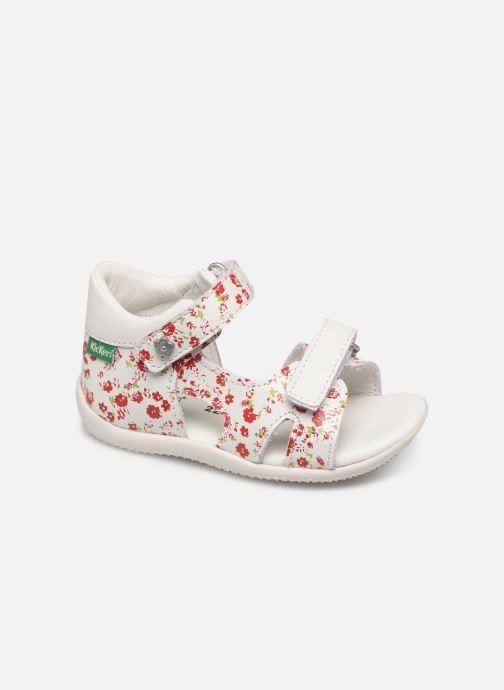 Sandales et nu-pieds Kickers Binsia Blanc vue détail/paire