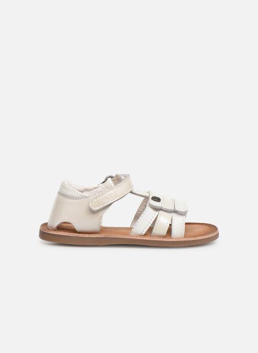 Sandales et nu-pieds Kickers Diams Blanc vue derrière
