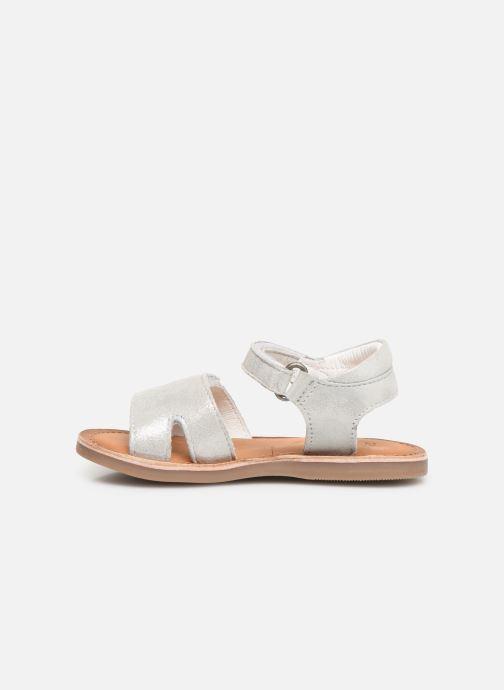 Sandali e scarpe aperte Kickers Divimoi Argento immagine frontale