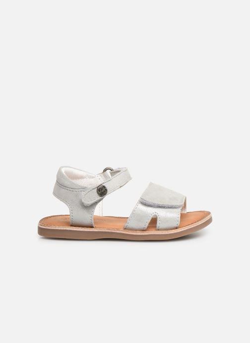 Sandales et nu-pieds Kickers Divimoi Argent vue derrière