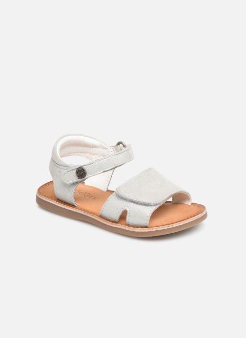 Sandales et nu-pieds Kickers Divimoi Argent vue détail/paire