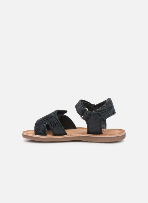 Sandales et nu-pieds Kickers Divimoi Noir vue face