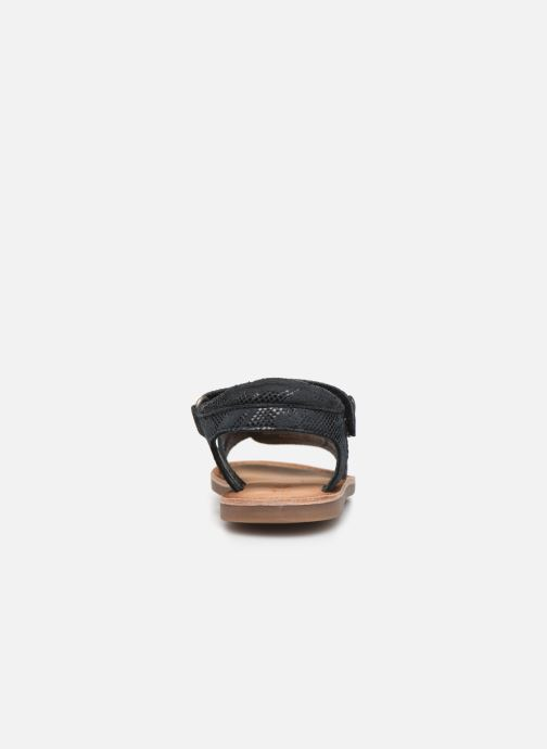 Sandales et nu-pieds Kickers Divimoi Noir vue droite