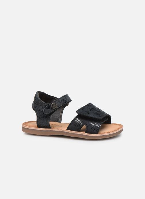 Sandales et nu-pieds Kickers Divimoi Noir vue derrière