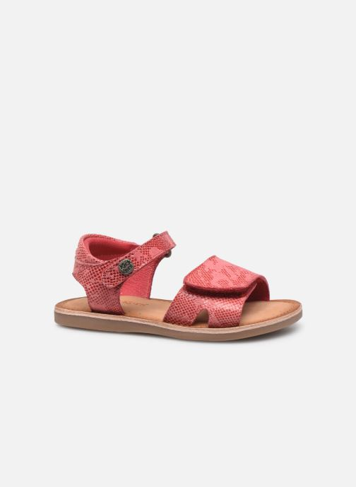 Sandales et nu-pieds Kickers Divimoi Rose vue derrière
