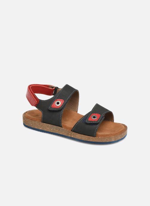 Sandales et nu-pieds Kickers First Bleu vue détail/paire