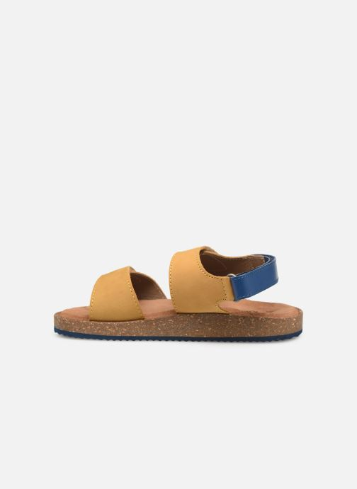 Sandalen Kickers First Geel voorkant