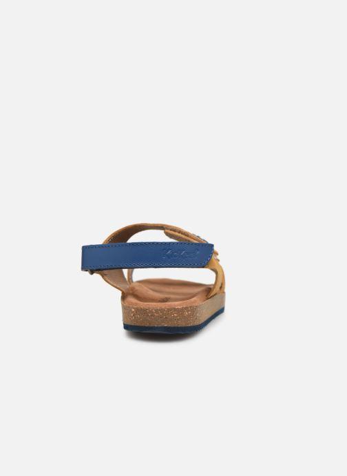 Sandalen Kickers First Geel rechts