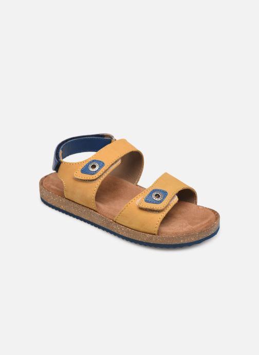 Sandales et nu-pieds Kickers First Jaune vue détail/paire