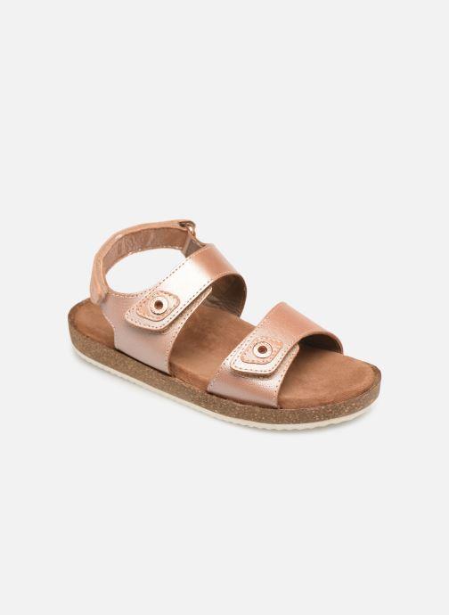 Sandales et nu-pieds Kickers First Rose vue détail/paire