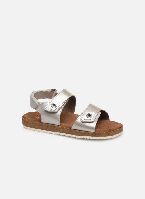 Sandales et nu-pieds Kickers First Argent vue détail/paire