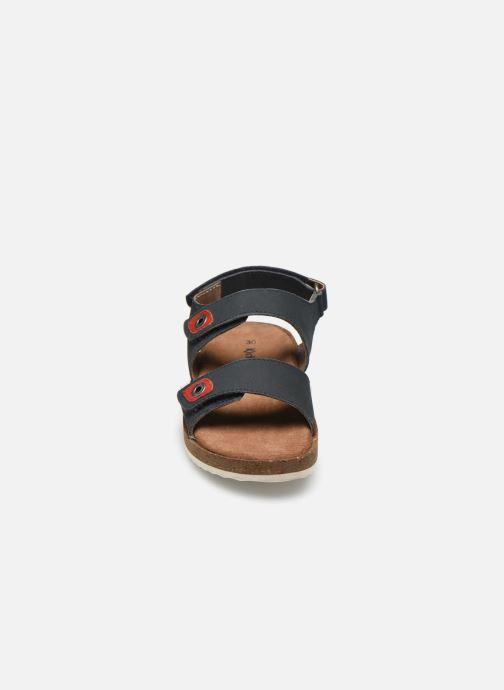 Sandales et nu-pieds Kickers First Bleu vue portées chaussures