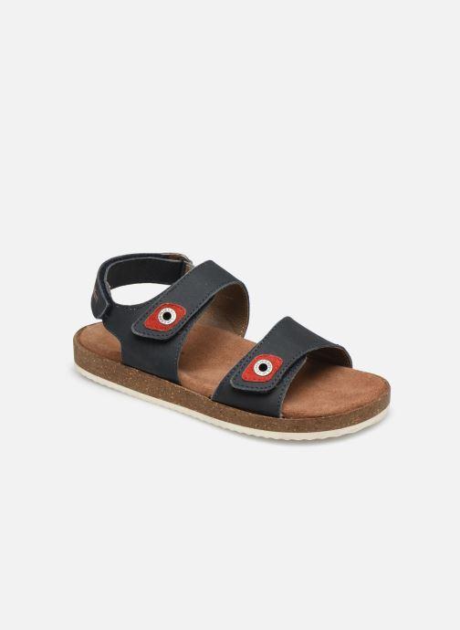 Sandalen Kickers First blau detaillierte ansicht/modell