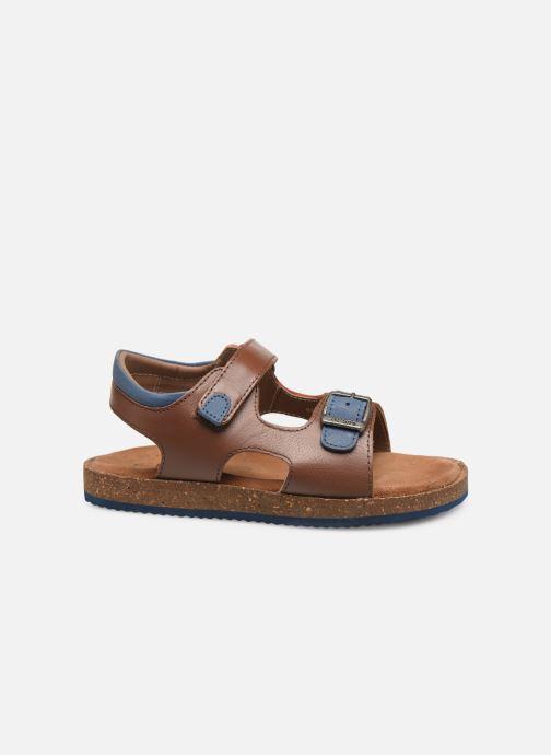 Sandales et nu-pieds Kickers Funkyo Marron vue derrière