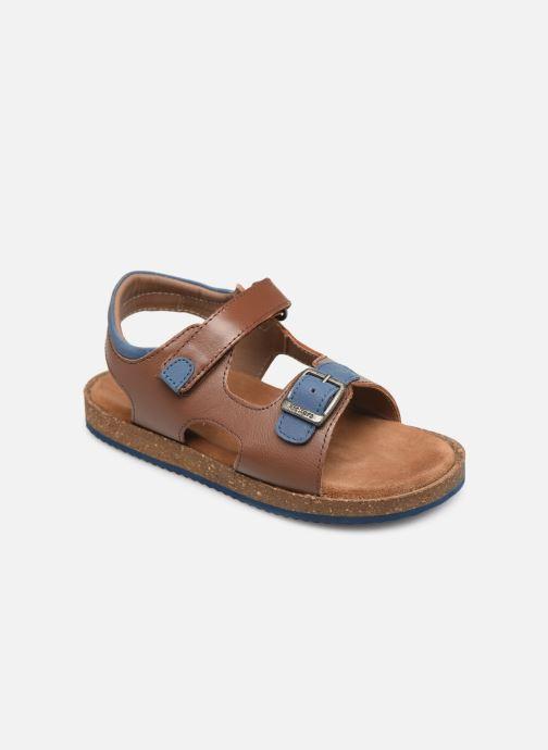 Sandales et nu-pieds Kickers Funkyo Marron vue détail/paire