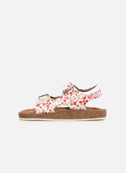 Sandales et nu-pieds Kickers Funkyo Blanc vue face