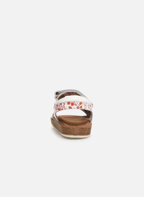 Sandales et nu-pieds Kickers Funkyo Blanc vue droite