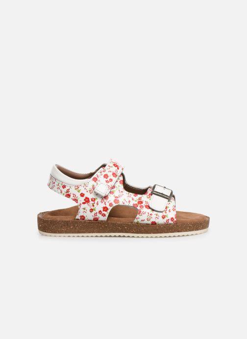 Sandales et nu-pieds Kickers Funkyo Blanc vue derrière