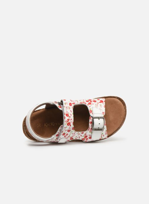 Sandales et nu-pieds Kickers Funkyo Blanc vue gauche