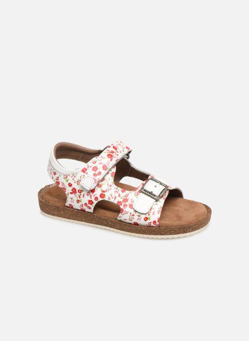 Sandales et nu-pieds Kickers Funkyo Blanc vue détail/paire