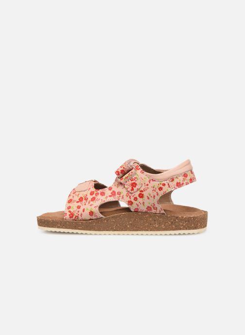 Sandalen Kickers Funkyo Roze voorkant