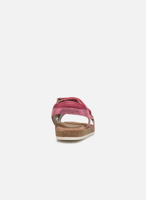 Sandales et nu-pieds Kickers Funkyo Rose vue droite