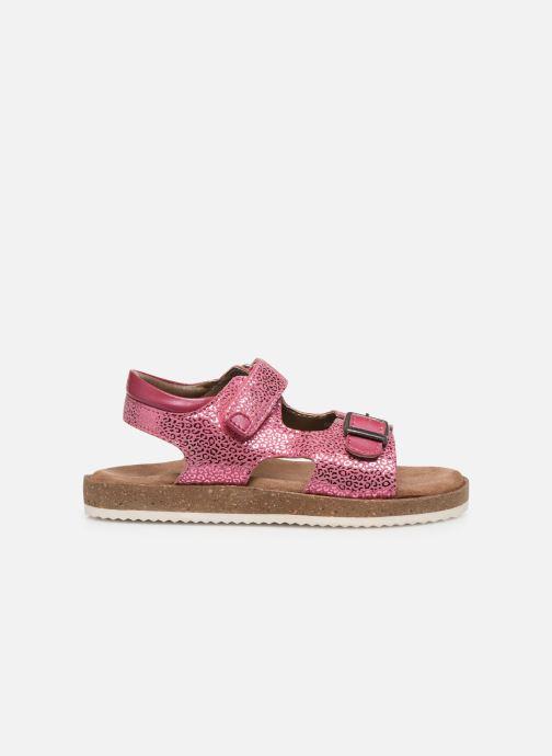 Sandales et nu-pieds Kickers Funkyo Rose vue derrière